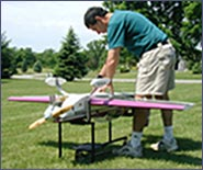 use for maintenance; radio controlled airplanes stand